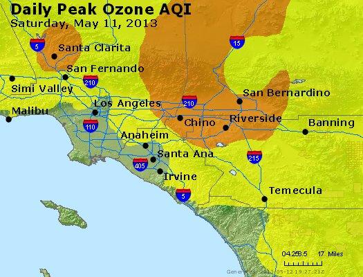 Peak Ozone (8-hour) - http://files.airnowtech.org/airnow/2013/20130511/peak_o3_losangeles_ca.jpg