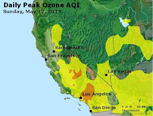 Peak Ozone (8-hour) - http://files.airnowtech.org/airnow/2013/20130512/peak_o3_ca_nv.jpg