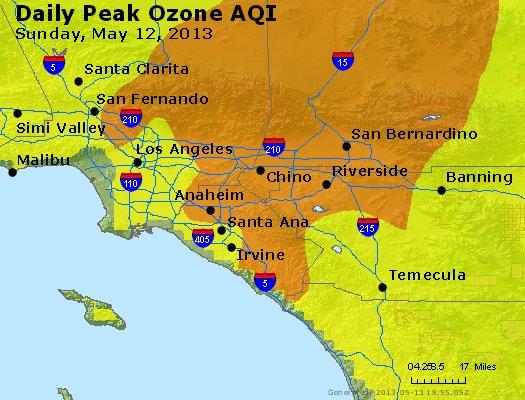 Peak Ozone (8-hour) - http://files.airnowtech.org/airnow/2013/20130512/peak_o3_losangeles_ca.jpg