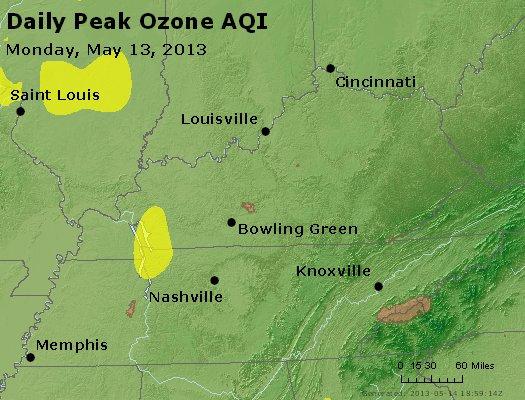 Peak Ozone (8-hour) - http://files.airnowtech.org/airnow/2013/20130513/peak_o3_ky_tn.jpg