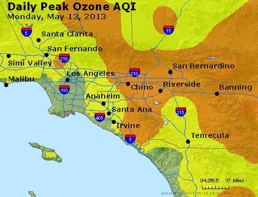 Peak Ozone (8-hour) - http://files.airnowtech.org/airnow/2013/20130513/peak_o3_losangeles_ca.jpg