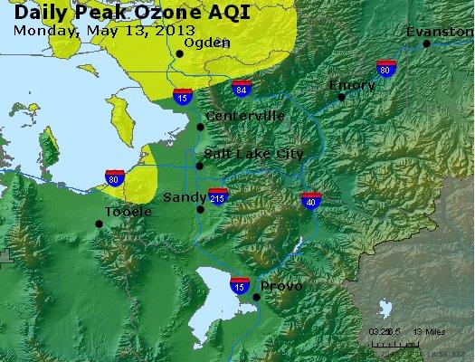 Peak Ozone (8-hour) - http://files.airnowtech.org/airnow/2013/20130513/peak_o3_saltlakecity_ut.jpg