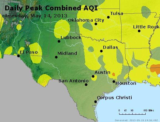 Peak AQI - http://files.airnowtech.org/airnow/2013/20130514/peak_aqi_tx_ok.jpg