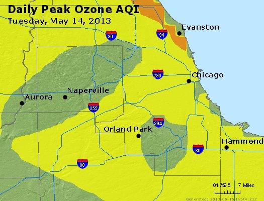 Peak Ozone (8-hour) - http://files.airnowtech.org/airnow/2013/20130514/peak_o3_chicago_il.jpg