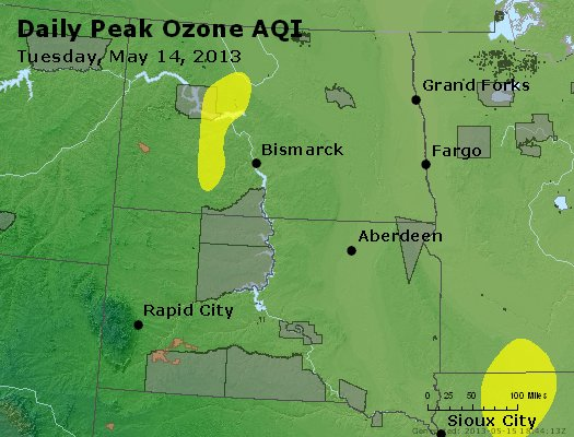 Peak Ozone (8-hour) - http://files.airnowtech.org/airnow/2013/20130514/peak_o3_nd_sd.jpg