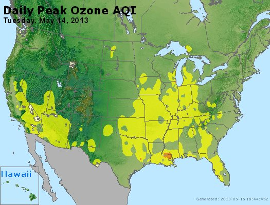 Peak Ozone (8-hour) - http://files.airnowtech.org/airnow/2013/20130514/peak_o3_usa.jpg