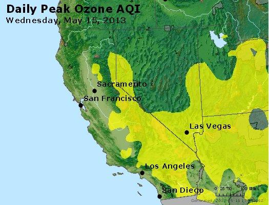 Peak Ozone (8-hour) - http://files.airnowtech.org/airnow/2013/20130515/peak_o3_ca_nv.jpg