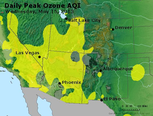 Peak Ozone (8-hour) - http://files.airnowtech.org/airnow/2013/20130515/peak_o3_co_ut_az_nm.jpg