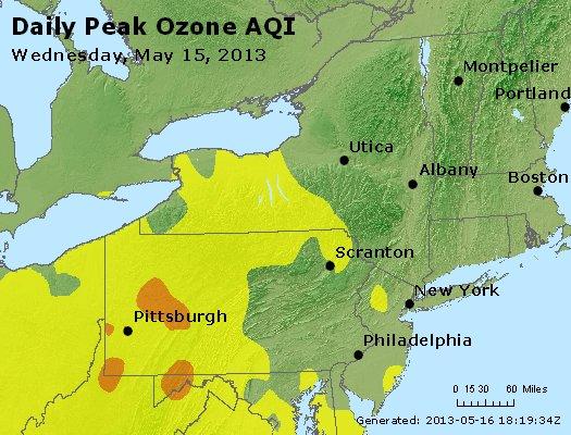Peak Ozone (8-hour) - http://files.airnowtech.org/airnow/2013/20130515/peak_o3_ny_pa_nj.jpg