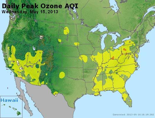 Peak Ozone (8-hour) - http://files.airnowtech.org/airnow/2013/20130515/peak_o3_usa.jpg