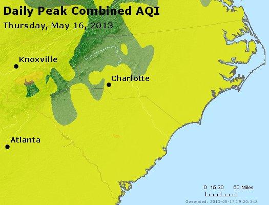 Peak AQI - http://files.airnowtech.org/airnow/2013/20130516/peak_aqi_nc_sc.jpg