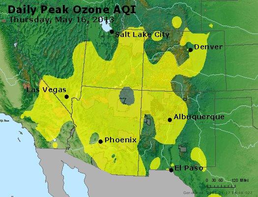 Peak Ozone (8-hour) - http://files.airnowtech.org/airnow/2013/20130516/peak_o3_co_ut_az_nm.jpg