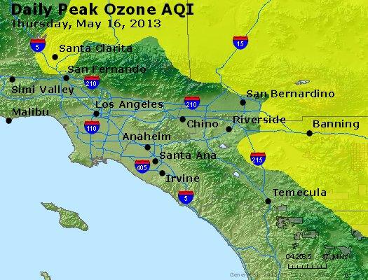 Peak Ozone (8-hour) - http://files.airnowtech.org/airnow/2013/20130516/peak_o3_losangeles_ca.jpg