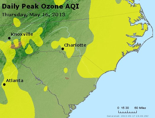Peak Ozone (8-hour) - http://files.airnowtech.org/airnow/2013/20130516/peak_o3_nc_sc.jpg