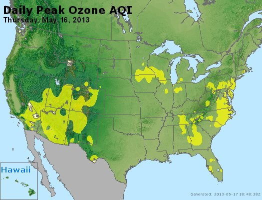 Peak Ozone (8-hour) - http://files.airnowtech.org/airnow/2013/20130516/peak_o3_usa.jpg