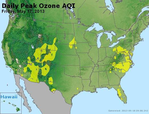 Peak Ozone (8-hour) - http://files.airnowtech.org/airnow/2013/20130517/peak_o3_usa.jpg