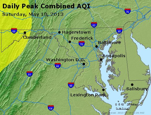 Peak AQI - http://files.airnowtech.org/airnow/2013/20130518/peak_aqi_maryland.jpg