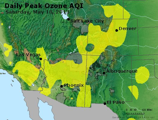 Peak Ozone (8-hour) - http://files.airnowtech.org/airnow/2013/20130518/peak_o3_co_ut_az_nm.jpg