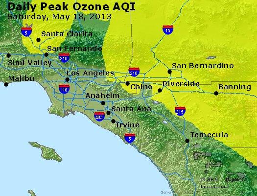 Peak Ozone (8-hour) - http://files.airnowtech.org/airnow/2013/20130518/peak_o3_losangeles_ca.jpg