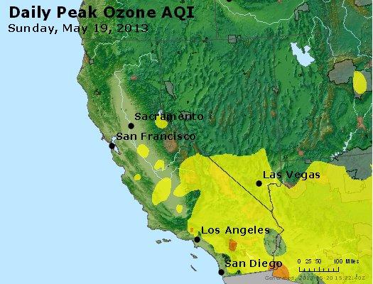 Peak Ozone (8-hour) - http://files.airnowtech.org/airnow/2013/20130519/peak_o3_ca_nv.jpg