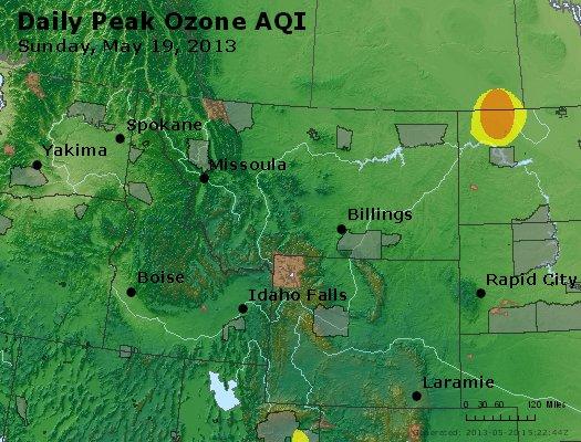 Peak Ozone (8-hour) - http://files.airnowtech.org/airnow/2013/20130519/peak_o3_mt_id_wy.jpg