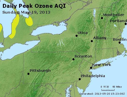 Peak Ozone (8-hour) - http://files.airnowtech.org/airnow/2013/20130519/peak_o3_ny_pa_nj.jpg