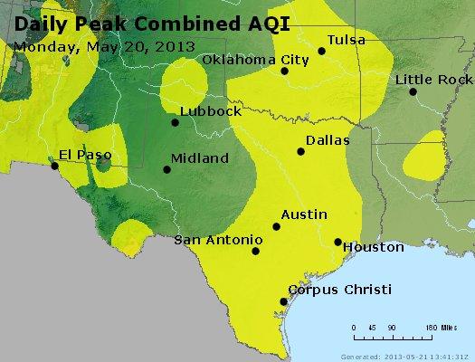 Peak AQI - http://files.airnowtech.org/airnow/2013/20130520/peak_aqi_tx_ok.jpg