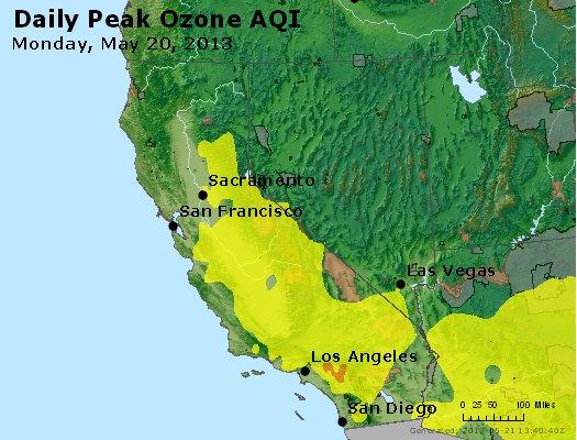 Peak Ozone (8-hour) - http://files.airnowtech.org/airnow/2013/20130520/peak_o3_ca_nv.jpg