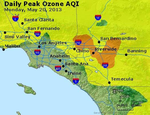 Peak Ozone (8-hour) - http://files.airnowtech.org/airnow/2013/20130520/peak_o3_losangeles_ca.jpg