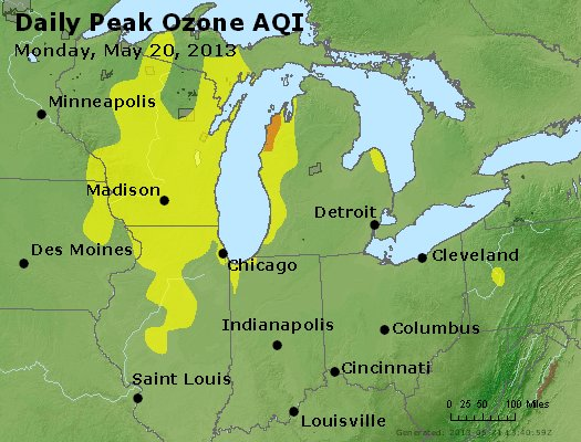 Peak Ozone (8-hour) - http://files.airnowtech.org/airnow/2013/20130520/peak_o3_mi_in_oh.jpg