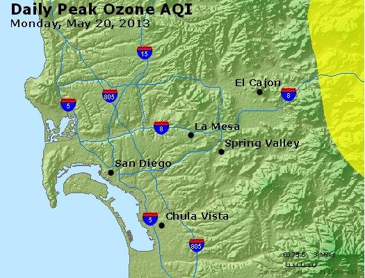 Peak Ozone (8-hour) - http://files.airnowtech.org/airnow/2013/20130520/peak_o3_sandiego_ca.jpg