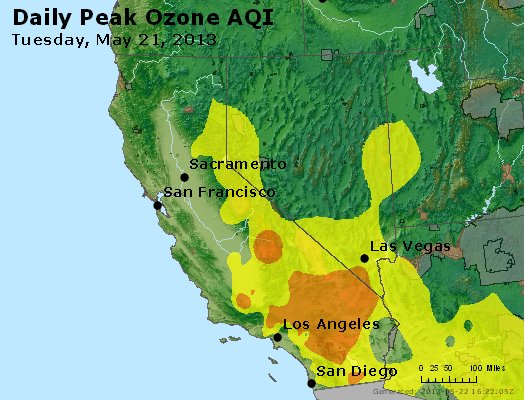 Peak Ozone (8-hour) - http://files.airnowtech.org/airnow/2013/20130521/peak_o3_ca_nv.jpg