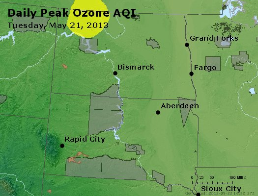 Peak Ozone (8-hour) - http://files.airnowtech.org/airnow/2013/20130521/peak_o3_nd_sd.jpg