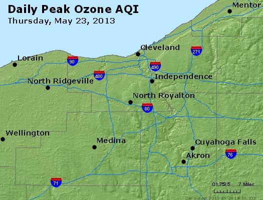 Peak Ozone (8-hour) - http://files.airnowtech.org/airnow/2013/20130523/peak_o3_cleveland_oh.jpg