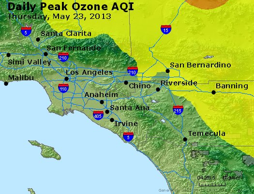 Peak Ozone (8-hour) - http://files.airnowtech.org/airnow/2013/20130523/peak_o3_losangeles_ca.jpg