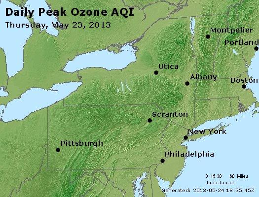 Peak Ozone (8-hour) - http://files.airnowtech.org/airnow/2013/20130523/peak_o3_ny_pa_nj.jpg