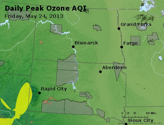 Peak Ozone (8-hour) - http://files.airnowtech.org/airnow/2013/20130524/peak_o3_nd_sd.jpg
