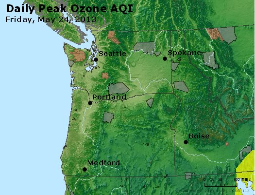 Peak Ozone (8-hour) - http://files.airnowtech.org/airnow/2013/20130524/peak_o3_wa_or.jpg