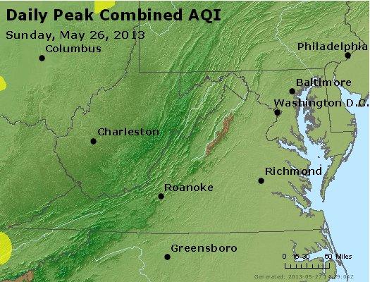 Peak AQI - http://files.airnowtech.org/airnow/2013/20130526/peak_aqi_va_wv_md_de_dc.jpg