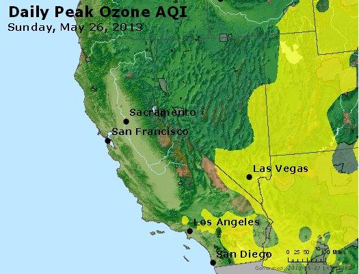 Peak Ozone (8-hour) - http://files.airnowtech.org/airnow/2013/20130526/peak_o3_ca_nv.jpg