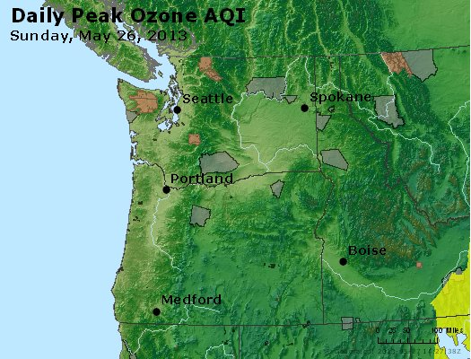 Peak Ozone (8-hour) - http://files.airnowtech.org/airnow/2013/20130526/peak_o3_wa_or.jpg