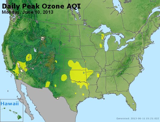 Peak Ozone (8-hour) - http://files.airnowtech.org/airnow/2013/20130610/peak_o3_usa.jpg