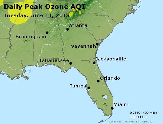 Peak Ozone (8-hour) - http://files.airnowtech.org/airnow/2013/20130611/peak_o3_al_ga_fl.jpg