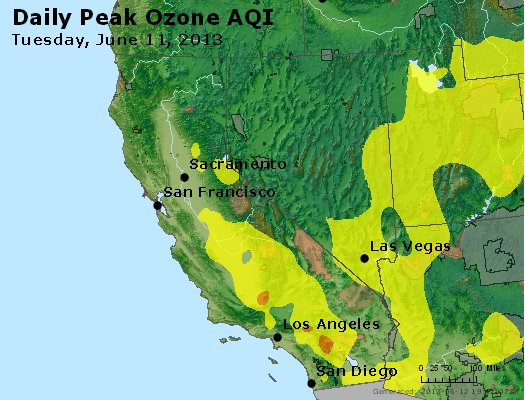 Peak Ozone (8-hour) - http://files.airnowtech.org/airnow/2013/20130611/peak_o3_ca_nv.jpg