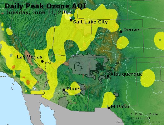 Peak Ozone (8-hour) - http://files.airnowtech.org/airnow/2013/20130611/peak_o3_co_ut_az_nm.jpg