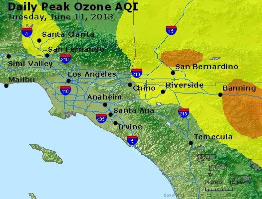 Peak Ozone (8-hour) - http://files.airnowtech.org/airnow/2013/20130611/peak_o3_losangeles_ca.jpg