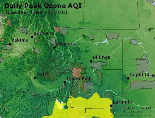 Peak Ozone (8-hour) - http://files.airnowtech.org/airnow/2013/20130611/peak_o3_mt_id_wy.jpg