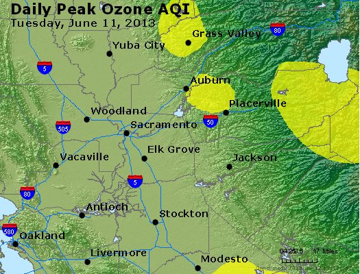 Peak Ozone (8-hour) - http://files.airnowtech.org/airnow/2013/20130611/peak_o3_sacramento_ca.jpg