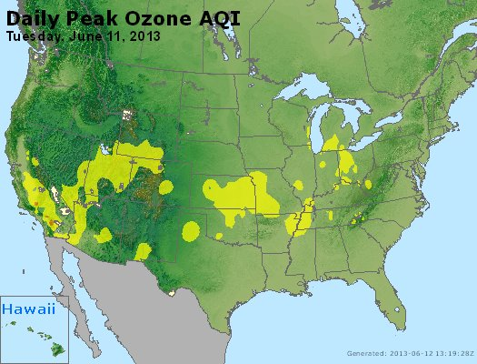 Peak Ozone (8-hour) - http://files.airnowtech.org/airnow/2013/20130611/peak_o3_usa.jpg
