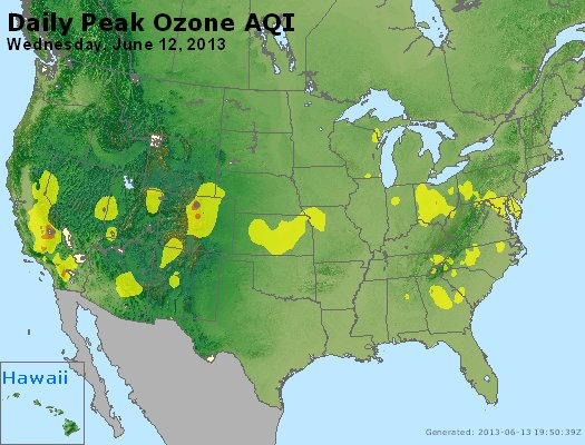 Peak Ozone (8-hour) - http://files.airnowtech.org/airnow/2013/20130612/peak_o3_usa.jpg